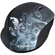Verbatim® Wireless Optical Mouse Black Design