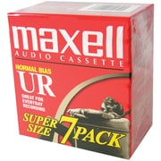 Maxell® 108575 Normal Bias Audio Tape, 90 Min