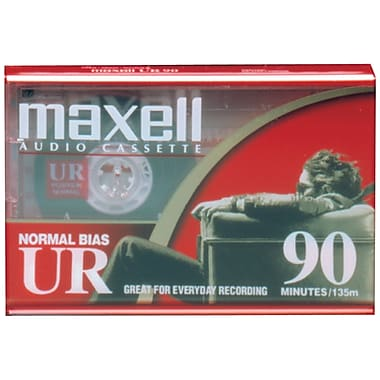 Maxell® 108510 Normal Bias Audio Tape, 90 Min