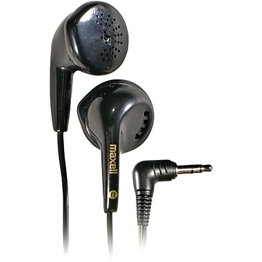 Maxell® Dynamic Earbuds, Black