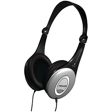 Maxell® Noise-Canceling Folding Headphones