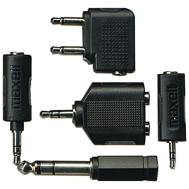 Maxell® Headphone & Cellular Phone Adapter Kit
