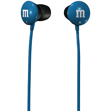 Maxell® M&M'S® Earbuds, Blue