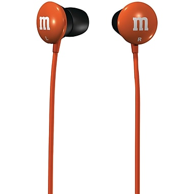 Maxell® M&M'S® Earbuds, Orange