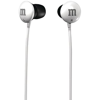 Maxell® M&M'S® Earbuds, White