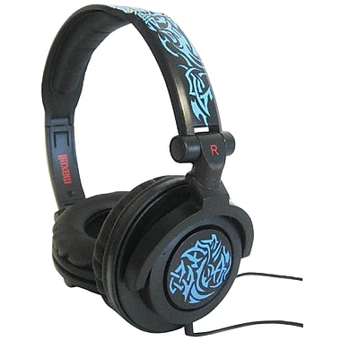Maxell® Amplified Heavy Bass Headphones, Blue