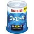 Maxell® 638014 16 X 4.7GB DVD-RS, 100-ct Spindle