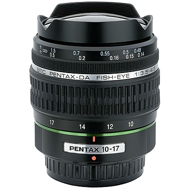 Pentax® 21580 DA 10 -17mm f/3.5-4.5 ED (IF) Fish-Eye Lens