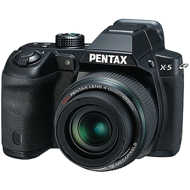Pentax® 16.0 MP X-5 Digital Camera, Black