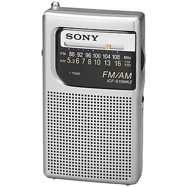 Sony® iCFS10MK2 Pocket AM/FM Radio