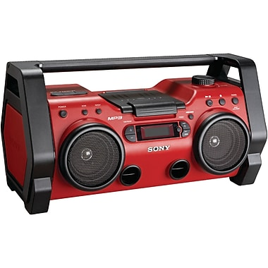 Sony® ZSH10CP Heavy Duty CD Radio Boom Box