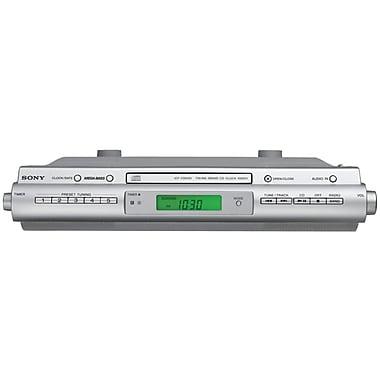 Sony® ICFCDK50 Under Cabinet Kitchen CD Clock Radio