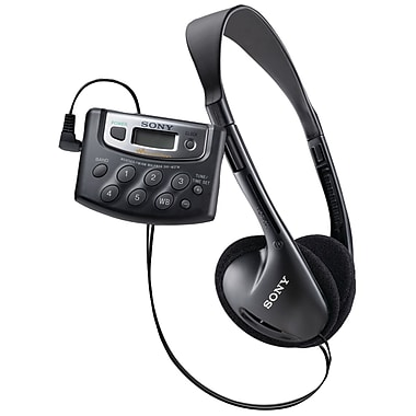 Sony® SRFM37W Walkman Digital Tuning Weather Radio