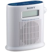 Sony® ICFS79W Weather Band Digital Shower Radio