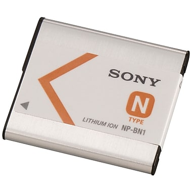 Sony® NPBN1 3.6 VDC 630 mAh Lithium-ion Rechargeable Replacement Battery