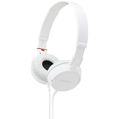 Sony® Zx  Dynamic Design Stereo Headphones, White
