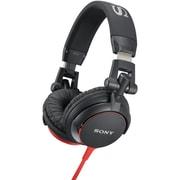 Sony® DJ-Style Headphones, Black/Red