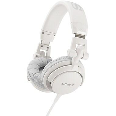 Sony® DJ-Style Headphones, White