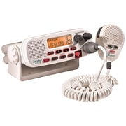 Cobra® MR-F45D Class-D Fixed Mount VHF Marine Radio, White