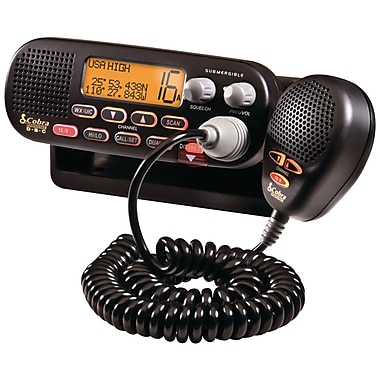 Cobra® MR F55B Class-D Fixed Mount VHF Radio
