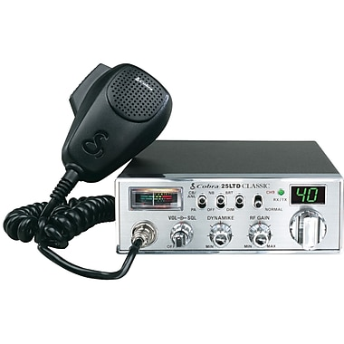 Cobra® Classic™ 25 LTD CB Radio With Dynamike™ Gain Control