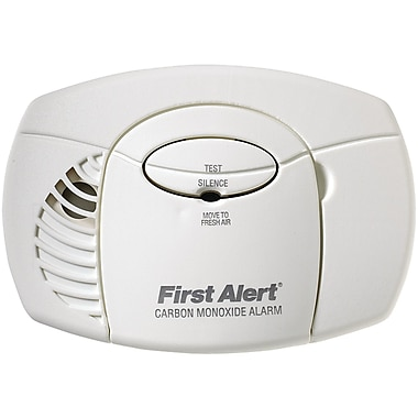 First Alert® Battery-Powered Carbon Monoxide Alarm Without Digital Display