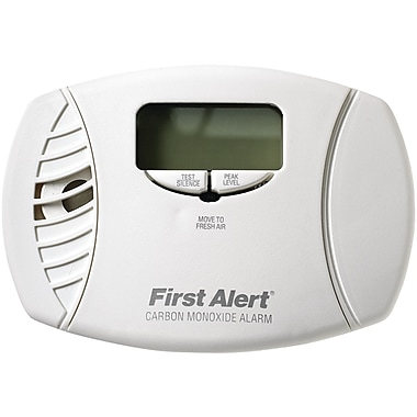 First Alert® Carbon Monoxide Plug-In Alarm With Battery Backup and Digital Display