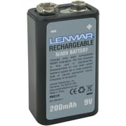 Lenmar® PRO19 9 VDC 200 mAh Lithium-ion Rechargeable Replacement Battery