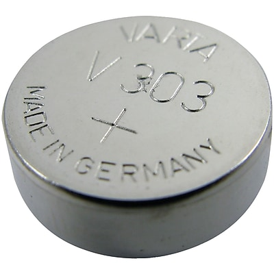 Lenmar WC303 SR44SW Silver Oxide 165 mAh Watch Battery