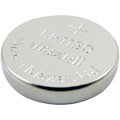 Lenmar WCLR1130 Alkaline 1.5V 65 mAh Button Type Battery