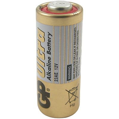 Lenmar WCLR23A Alkaline 12V 41 mAh Button Type Battery