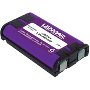 Lenmar® CB0104 Ni-MH 850 mAh Replacement Battery For Panasonic KX-TG Series Cordless Phones, Black
