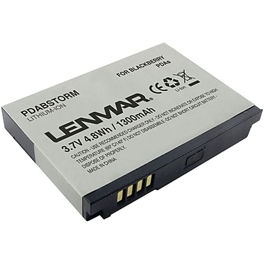 Lenmar® PDABSTORM Lithium-ion Replacement Battery For Blackberry Storm, Curve 8900 and 9530 Mobiles