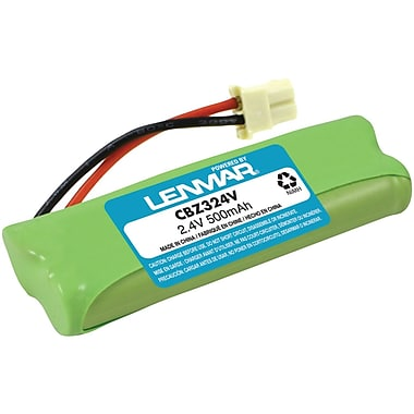Lenmar® CBZ324V Ni-MH 300 mAh Replacement Battery For V-Tech DS6421 Cordless Phones