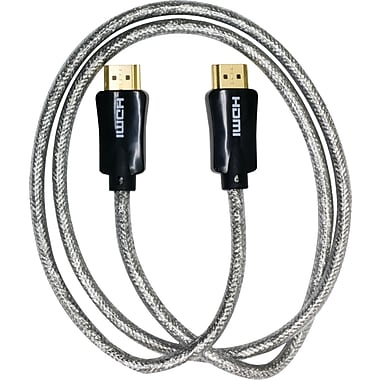 GE JAS24204 3' HDMI Cable, Black