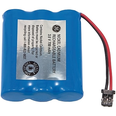 GE 26154 NiCd 700 mAh Replacement Battery For Panasonic, SW Bell, Uniden, Toshiba