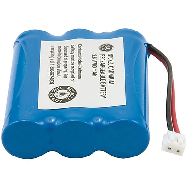 GE 26506 NiCd 600 mAh Replacement Battery For AT&T, GE, Casio And Phonemate