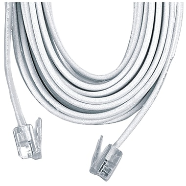 GE 50' 4 Conductor Line Cord, White