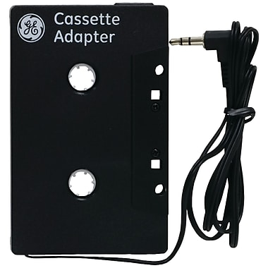 GE 73627 Cassette Adapter, Black