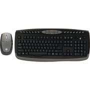 GE Wireless Office Keyboard and Optical Mouse, Black