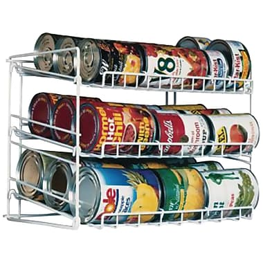 Atlantic® 3-Tier Canrack, White