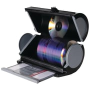 Atlantic® 85012055 80-Disc Manager, Black with Gunmetal Accent