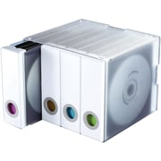 Atlantic® 96635495 96-Disc Album Cube, White