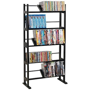 Atlantic® 35535601 Element 230-CD Media Rack, Espresso