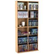 Atlantic® Oskar 464-CD Multimedia Storage Maple Cabinet