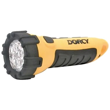 Dorcy® 20 Hour Incredible Floating Flashlight, Yellow/Black