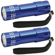 Dorcy® 9 LED Aluminum Flashlight Combo, Blue