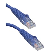 Tripp Lite N001-010-BL 10' CAT-5e Snagless Molded Patch Cable, Blue