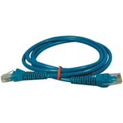 Tripp Lite TRPN001005BL 5' CAT-5e Snagless Molded Patch Cable, Blue