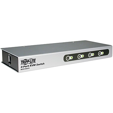 Tripp Lite B022-004-R KVM Switch, 4 Port